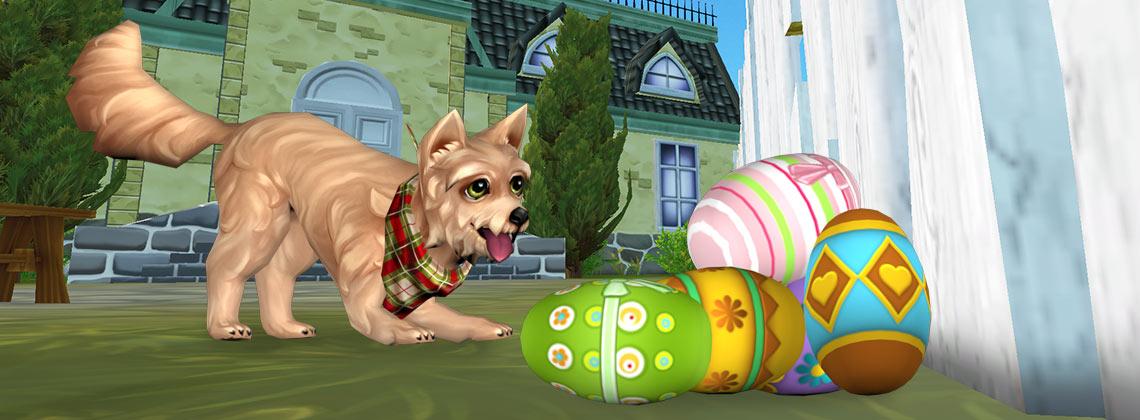 ¡Búsqueda de huevos de Pascua y el doble de Star Coins!