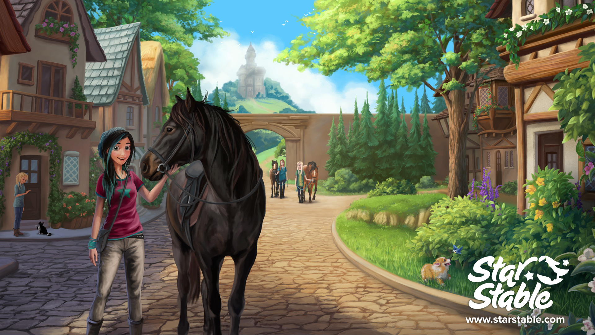 Download gratis fan art bronnen star stable - Fan wallpaper download ...