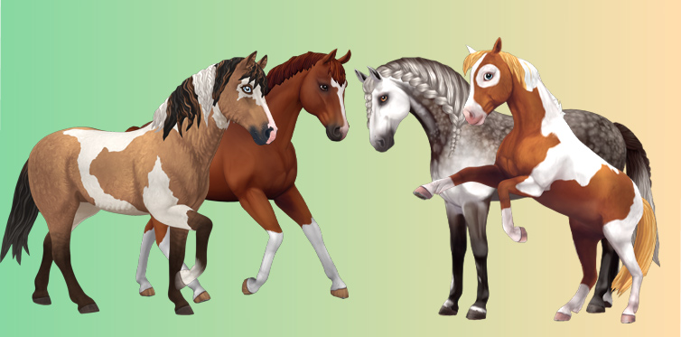 Finally, here are some of our Generation 3 horses!