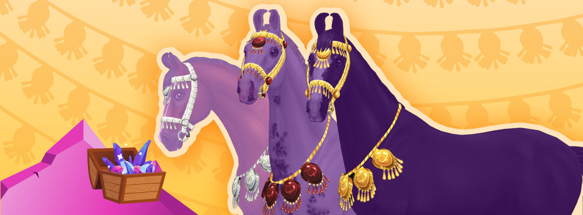 Get Star Coins and bridles for your Marwari!