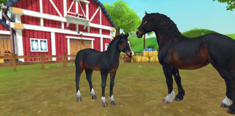 Присоединится ли эта лошадка к твоему семейству лошадей?