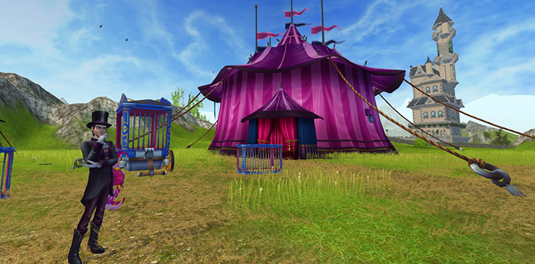 Visit Ydris' new circus!