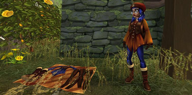 Kjøp flotte druideklær hos Farah!