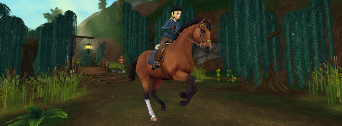 Ta-daa – The Trakehner is here!