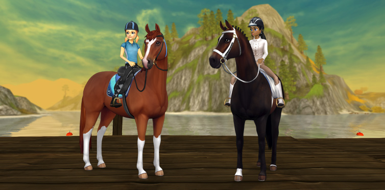 Cool sport horses from Goldenhills Valley!