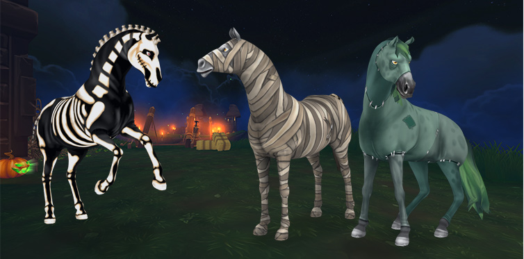 Nadchodzi Halloween Star Stable