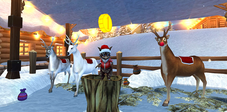 Which one of these fun reindeers is your favorite?
