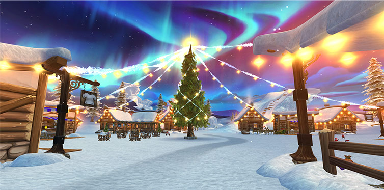 Welcome to the Winter Village!