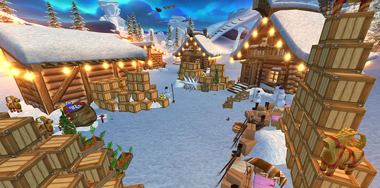 The Winter Village is the ultimate holiday location!