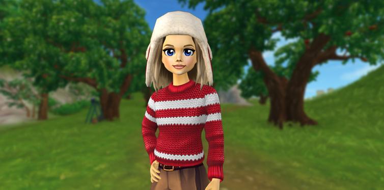Latest winter fashion on Jorvik!
