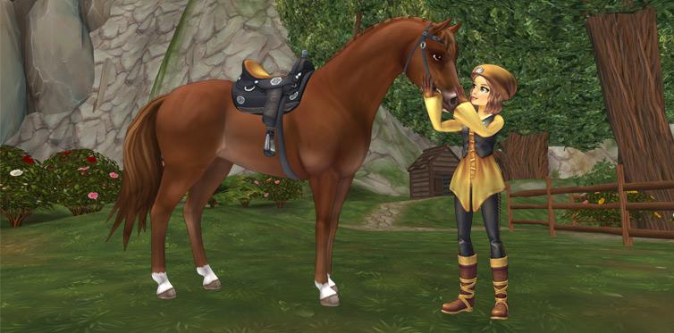 Ton cheval et toi allez former le plus beau duo de Jorvik !