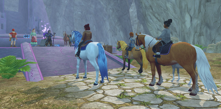 Join the Soul Riders on their way to Pandoria!