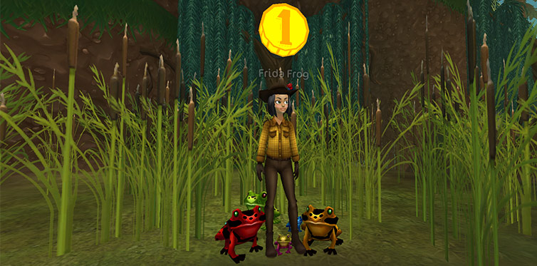 Last chance to get one of Frida's frog pets!