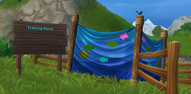 New items await you in the fishing pond!