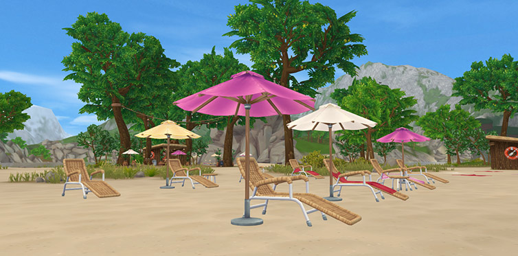 The Fort Pinta beach area is more beautiful than ever!