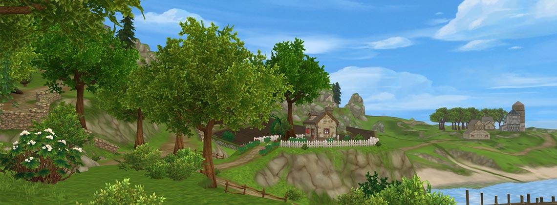 Um visual novo para a Província das Colheitas!