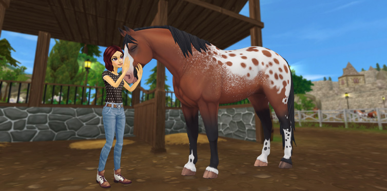 This horse was meant for you since the moment you spotted each other!