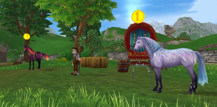 Go meet Gary and his new, magical horses!