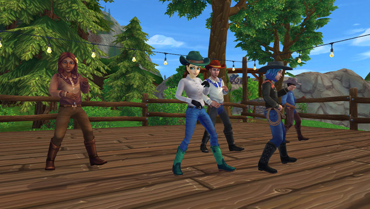 Show off your moves at Starshine Ranch!
