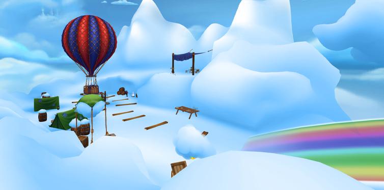 ...to travel to the astonishing Cloud Kingdom!