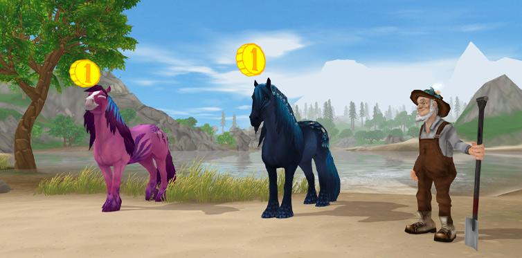 Встреться с Гари в форте Пинта и познакомься поближе с лошадьми дорха и солас!