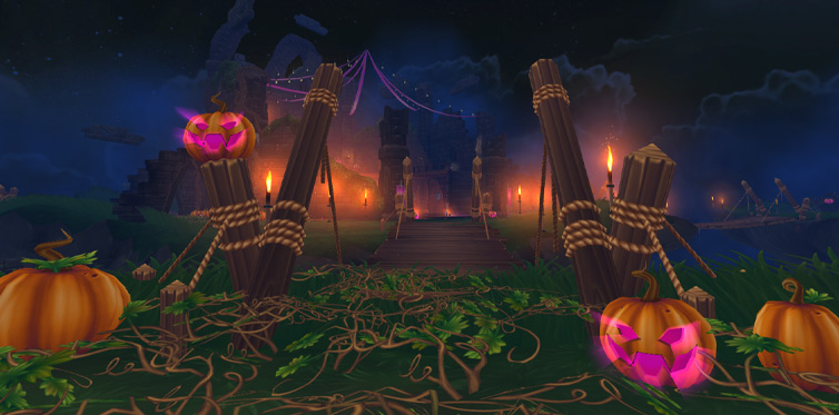 Galloper's Keep - the place to be this Halloween!
