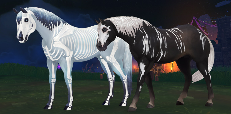 The spookiest horse there is!