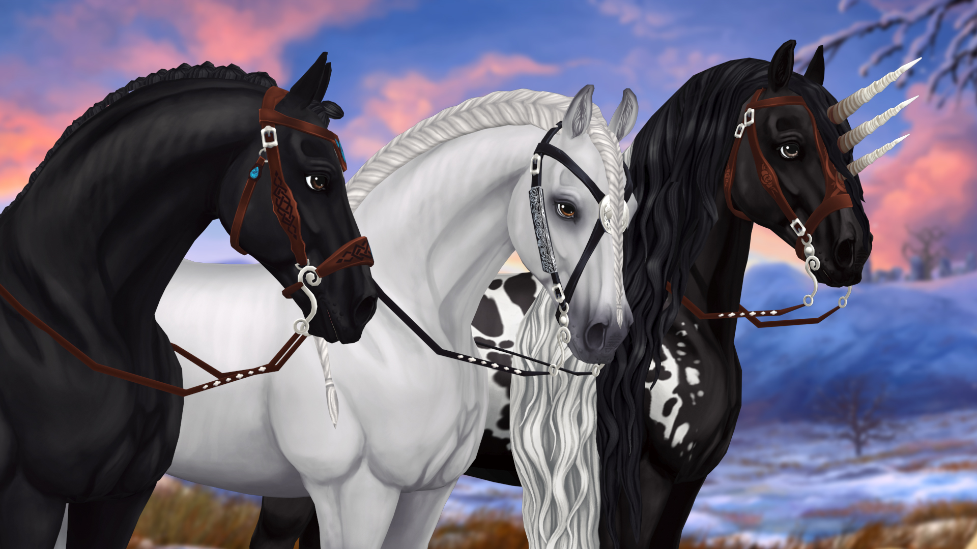 Which bridle color is your favorite?