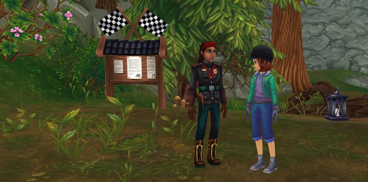Sprich mit Rowan neben der Redwood-Station, um diese Geschichte zu enthüllen.
