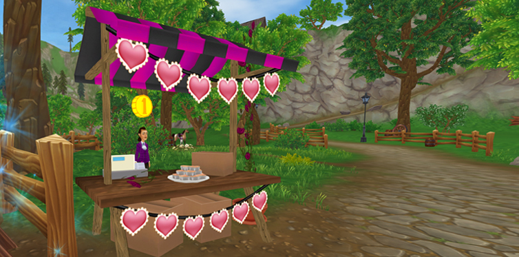Don't miss out on the Valentine's shops!