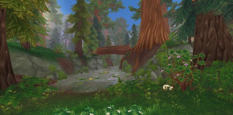 Oseras-tu t'aventurer dans la forêt Furieuse ?