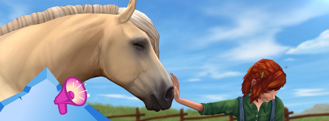Maya bekommt ihr eigenes Pferd!