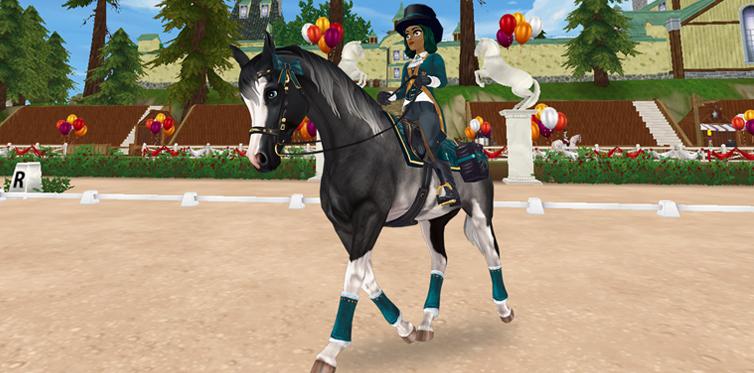 Du och din häst kommer att se fantastiska ut oavsett vilka färger du väljer!