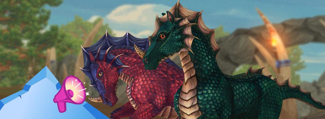 Волшебные лошади-драконы!