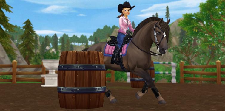В этой гонке можно проверить, насколько хорошо вы с лошадью понимаете друг друга!