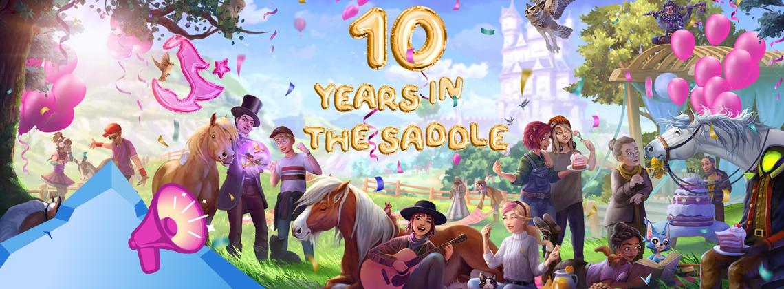 Gratulerer med tiårsdagen, Star Stable!