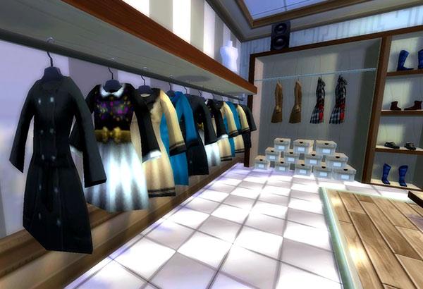 En av de tuffa nya butikerna i Jorvik Citys galleria!