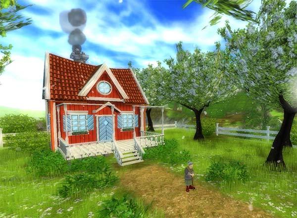 L'adorable maison de Mme Holdsworth!