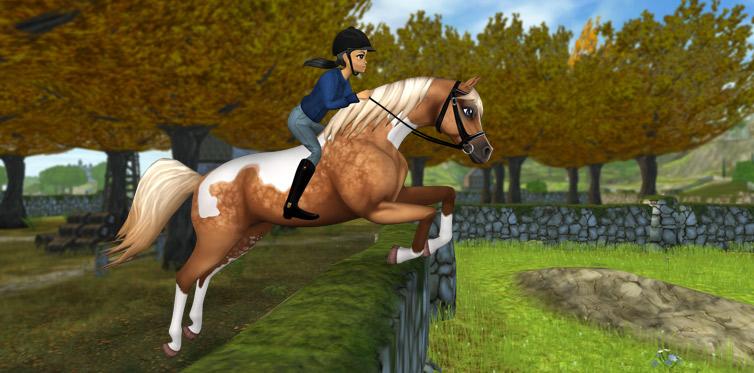 Schicke Pferde auf dem Goldspur-Anwesen!