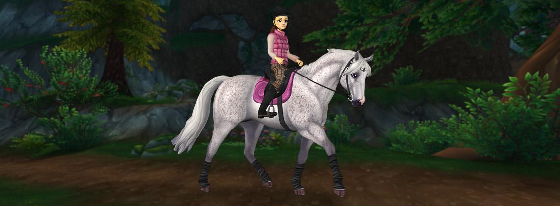 Årets första hästar!